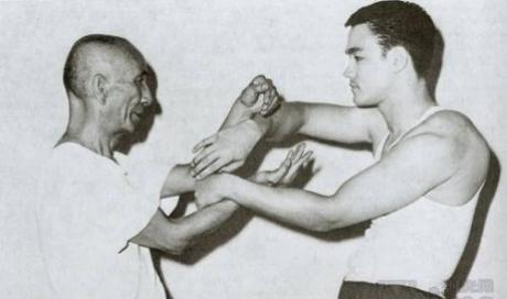 Ip Man et Bruce Lee