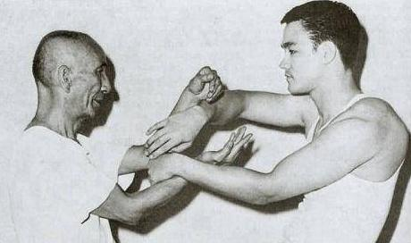 Bruce Lee et Ip Man Chi Sao