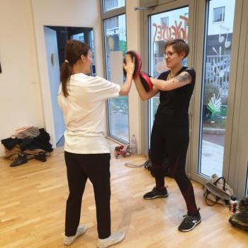 Cours Self Defense Lyon 4