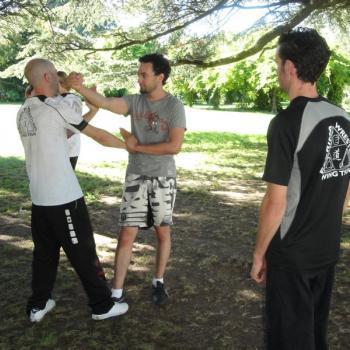 Wing Chun Lyon avec Dai Sihing Yohann