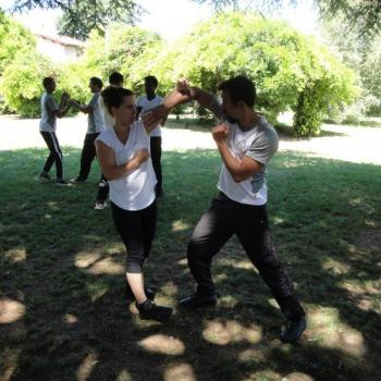 self defense femme lyon