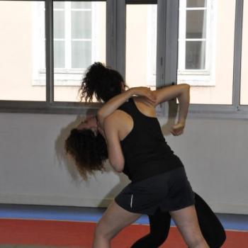 Self défense femme lyon