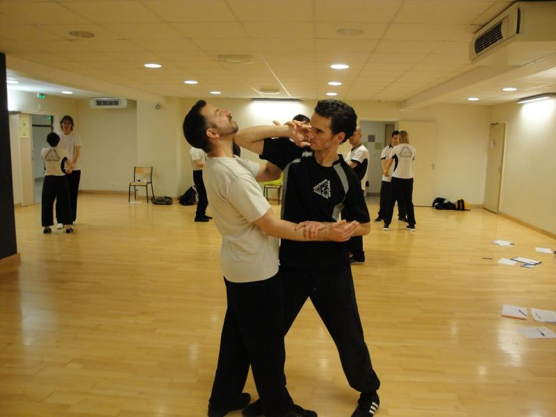 Cours self defense Lyon 4